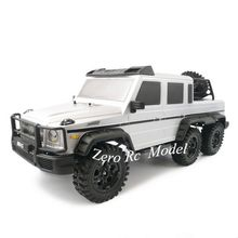 HG 1/10 Scaled Simulation 6*6 RC Rock Crawler Electric Toy Truck PNP(Plug and Play) Version, 6WD RTR off-Road RC Truck(China)