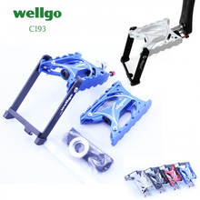 Wellgo C193 Folding Bicycle Pedal Ultra Light Sealed Bearing Aluminum CNC machined Anodized City Bike Pedals