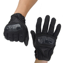Hot Sales New Cool motorcycle gloves racing gloves carbon fiber gloves Genuine leather gloves