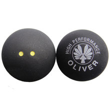 Oliver Natural Rubber Squash Ball Double Yellow Dot For Beginners Slowest Indoor Sports Equipment High Quality 2014