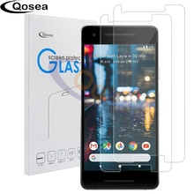 Qosea For Google Pixel 2 Screen Protector 9H Clear Transparent Film Explosion-proof For Google Pixel 2 Premium Tempered Glass