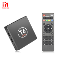 Mesuvida T6 S905X Android 7.1 Smart TV Box 2GB+16GB Amlogic S905X Quad core Cortex A53 4K 2.4GHz WiFi Smart Set Top Box