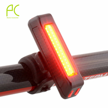 PCycling Waterproof USB Mountain Bike Bicycle Cycling Led 100 Lumens Lamp Head Light USB Rechargeable Front/Rear Light Flashing