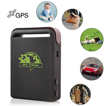 Sale! Mini Personal Car GSM / GPRS / GPS Tracker Quad 4 Band Vehicle Tracking Device Locator For Elderly Children Kids Pet(China)