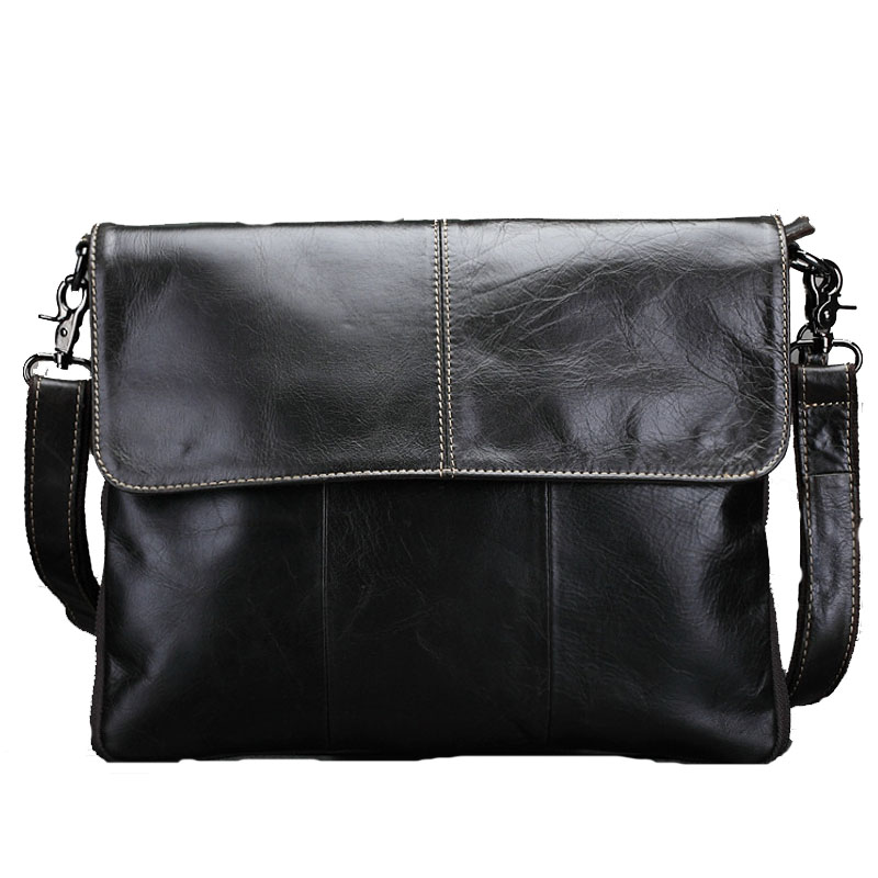 Genuine Leather Mens business bags briefcase Messenger Bags Mens Travel Leather Crossbody Shoulder Fashion Borse Handbags<br><br>Aliexpress