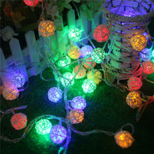 10M Thailand Ropes Lights String Fairy Light Christmas Festival Party Wedding Coffee Bar Decoration LED String Free Shipping(China)