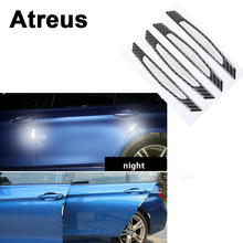 Buy Atreus 4pcs Mercedes benz W204 W203 W211 AMG Mini cooper Skoda octavia a5 Car Door Side Fender 3D Reflective Carbon Stickers for $12.86 in AliExpress store