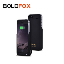 2017 New GOLDFOX 4200mAh External Battery For iPhone 5 5s SE Phone Backup Charger Case Emergency Phone Battery Charger Case(China)