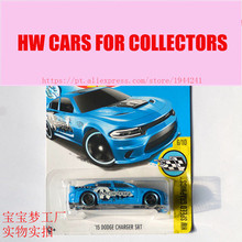 New Arrivals 2017 Hot 1:64 Car wheels 15 dodge charger srt Models Metal Diecast Cars Collection Kids Toys Vehicle For Children
