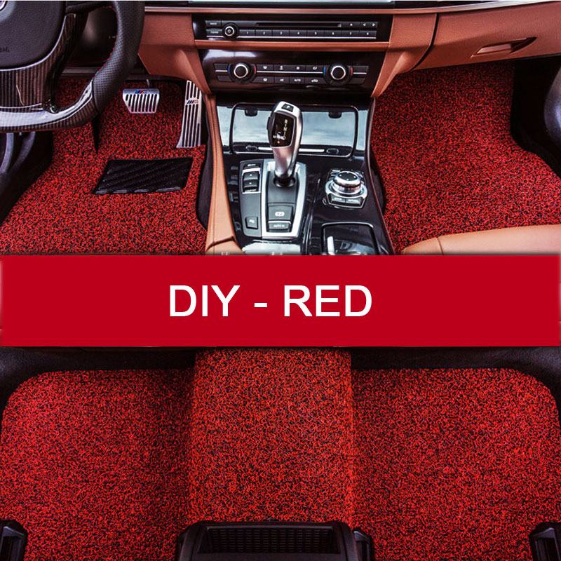 LUNDA DIY fit car floor mats for Peugeot 206 207 2008 301 307 308sw 3008 408 508 rcz car styling carpet floor liner<br><br>Aliexpress