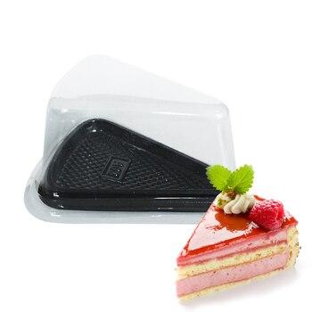50pcs/lot  cake box plastic  cupcake  box cheese  cake liner cake cases gift  wholesale-