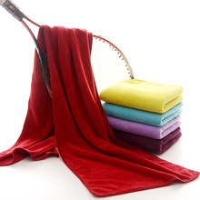 Manufacturers selling sports towel wipe microfiber Yoga towel running 30*120cm super soft super absorbent(China)