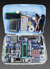 AVR + ARM +51 HC6800 experimental board microcontroller development board learning board kit STM32