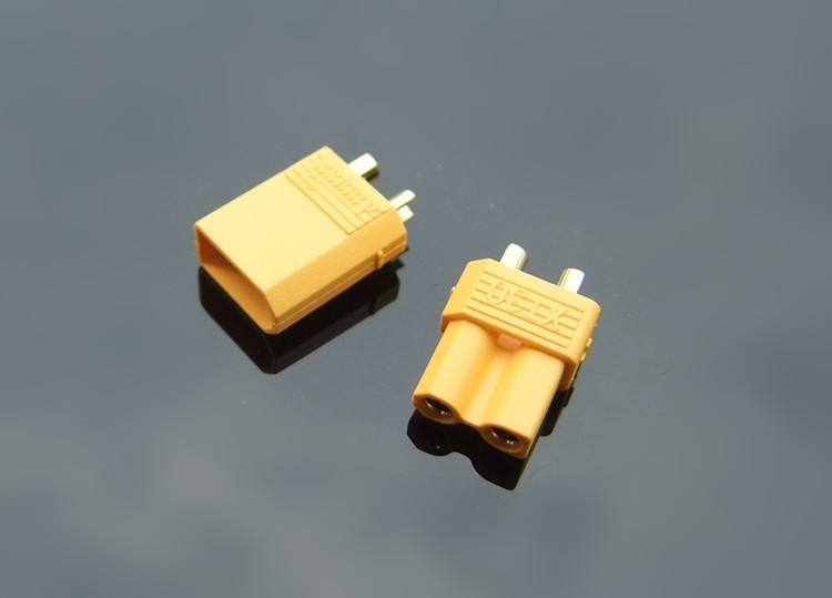 Brand New XT30 Plug Connectors Aeromodelling Car Boat Model Connector Connecting Line Gold Plated Battery Connectors