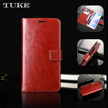 Brand TUKE For China Mobile N1 N 1 PU Leather Case Cover Flip Wallet With Stand Holder Card Slots Protective Shell(China)