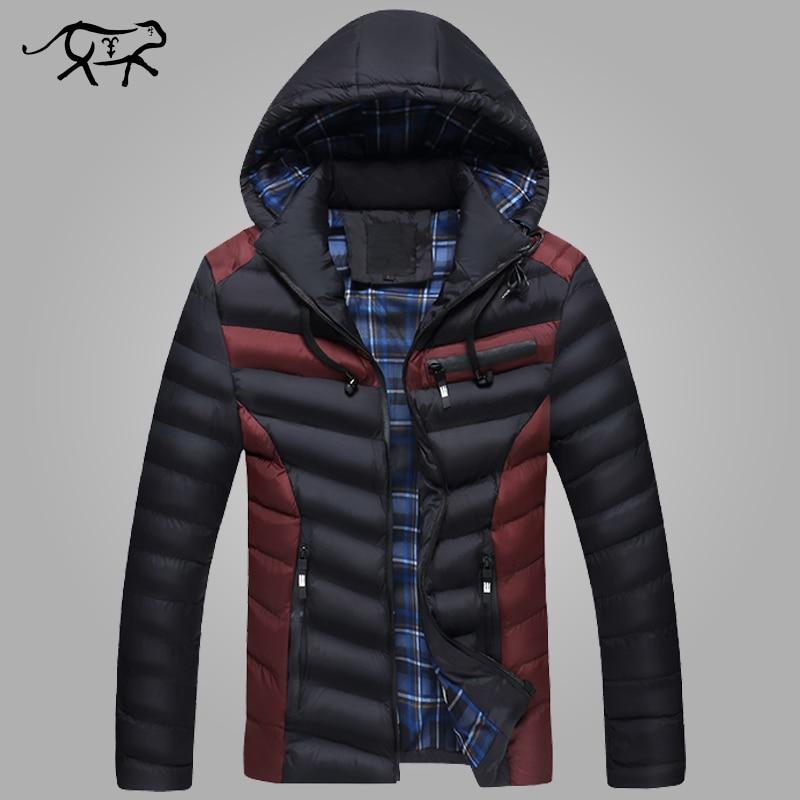 New Arrival Winter Jacket Men Warm Cotton Padded Coat Mens Casual Hooded Jackets Handsome Thicking Parka Plus size Slim CoatsÎäåæäà è àêñåññóàðû<br><br>
