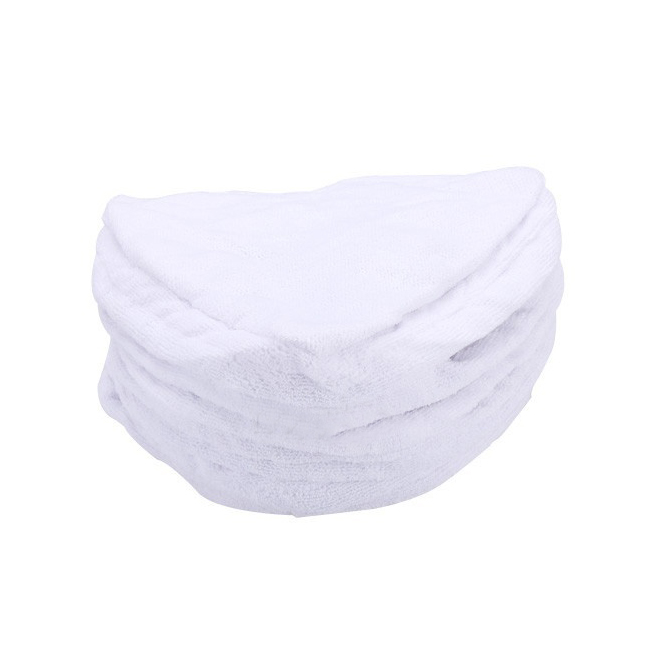 10x Steam Mop Pads Replacement Microfiber Home Office Cleaner (White)(China (Mainland))