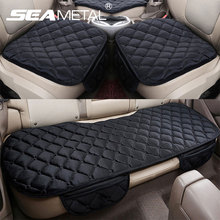 Car Seat Cover Universal Set Winter Accessories Car Seats Cushion Non-Slip Front Rear Left Right Auto Chair Protectors Soft Warm(China)