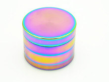 4 Size Cool Colourful Metal Zinc Alloy Pipe Tobacco Herb Grinder Spice Muller Cigarette Crusher Smoking Accessories