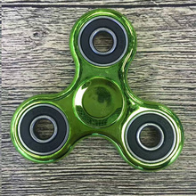 Buy Puzzle Toys Tri-Spinner Fidget Toy Aluminum EDC Hand Spinner Autism ADHD Spiner Anxiety Stress Relief Focus Toys for $1.94 in AliExpress store