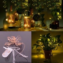 SPLEVISI LED Copper Wire lights 6.5FT/2M  9.8Ft/3M string lights for christmas light festival wedding party Home decoration lamp