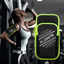 FLOVEME Sports Running Arm Band Phone Pouch Bags Cover For Samsung Galaxy S8 S7 S6 Edge For iphone 6 6s 7 Plus For Huawei P10 P9(China)