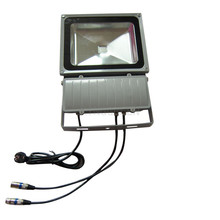 2X high quality 90W DMX512 led floodlight full color outdoor led project light express free shipping