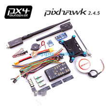 Pixhawk Autopilot PX4 Controller + NEO M8N GPS + TF Card/PPM/PM/I2C + 3DR Radio Telemetry+ Mini OSD + Power Module FPV Combo Kit