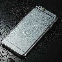 2017 New Arrival High Quality Cellphone Case Clear Crystal Rubber Plating TPU Soft Case Cover For iPhone 6s 4.7 Inch May 5