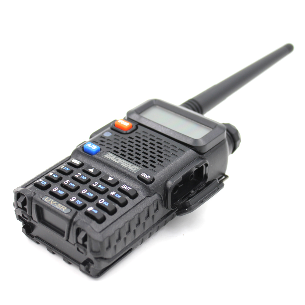 2PCS BaoFeng UV-5R Walkie Talkie 5W Two Way Ham Radio Baofeng UV5R VHF UHF 136-174Mhz & 400-520Mhz FM Transceiver
