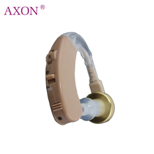 Hearing Aid Ear Aids with Batteries Mini Digital Sound Amplifier Hear clear for the Deaf Elderly Axon F-138