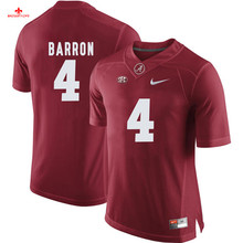 Nike 2017 Alabama Mark Barron 4 Can Customized Any Name Any Logo Limited Ice Hockey Jersey Mark Ingram 22(China)