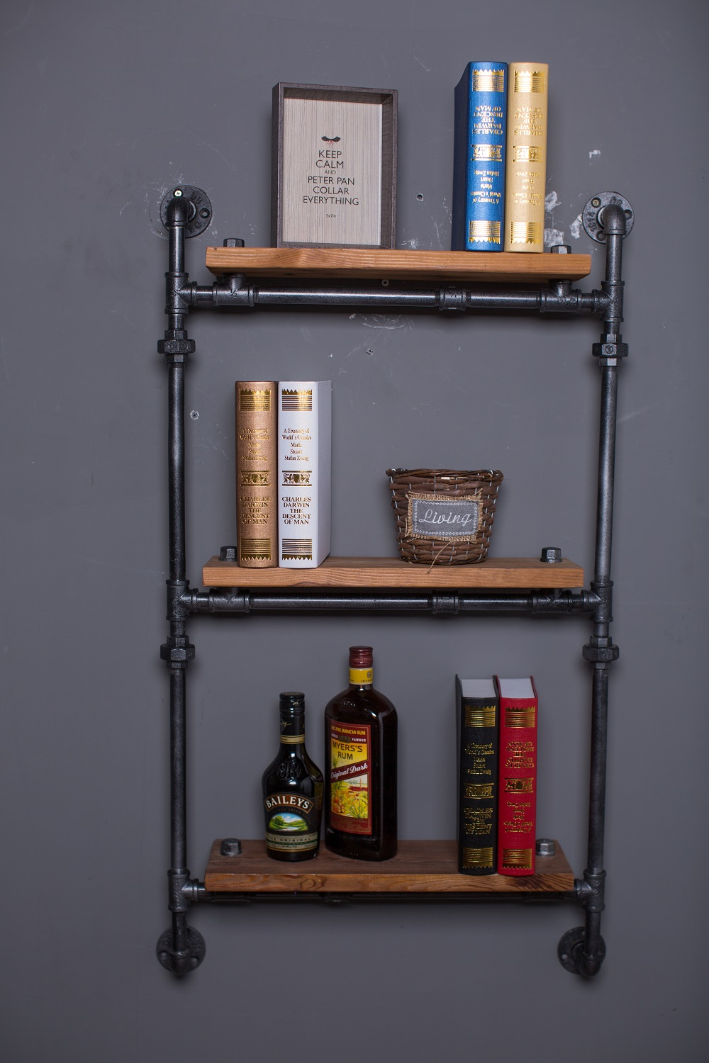 CNY Iron Wrought Shelf 6