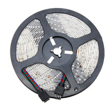 RGB LED Light bande 5M Waterproof Epoxy 3528 SMD with Remote Control Fita Led WS2812B 300 LEDs light Strip