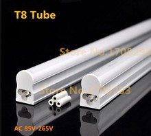Wholesale 50pcs led t8 tube 120cm 18W Intergrated design led lamp Fluorescent lamp AC85-265V T8 lamp integrated SMD2835 CE ROHS