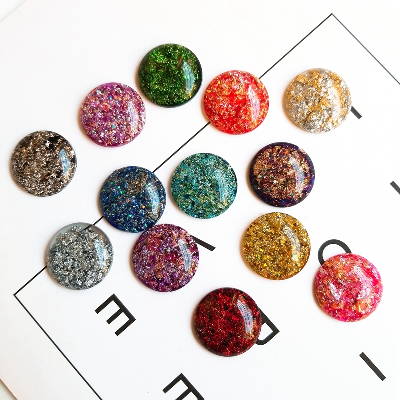 Creative Color Beads Sequins Greeting Card Decoration Gold Foil Iron Slices Flower Sequins and Spangles for Childrens Handmade DIY