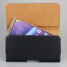 PU Leather Case Belt Clip Holster with Clip and Loop Cell Phone Carrying Pouch For Huawei Honor Note 8 (6.6 inch) Cover