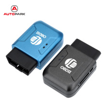 2016 OBD II GPS Realtime Tracker Car Mini Spy Tracking Device System GSM GPRS Blue Universal GPS Tracker with OBD2 Interface