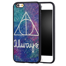 Deathly Hallows Always design Harry Potter phone Case Cover For Samsung S8 S8plus S4 S5 S6 S7 edge Note 2 Note 3 Note 4 Note 5