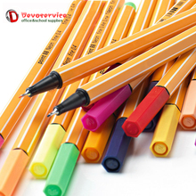1Pc Fiber Colored Gel Pen Set Swan 88 Kawaii Stationery Drawing Painting Color Pens Papelaria  Professional Art markers