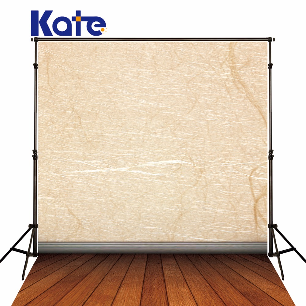 Kate silk backdrop photography light yellow wall dark wood texture floor photocall backgrounds for photo studio<br>