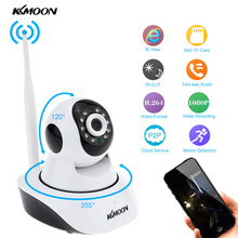 KKmoon HD Wireless Wifi IP Camera 1080P ONVIF Video Surveillance Security Camera P2P Pan/Tilt CCTV Camara Wifi Cam Night Vision