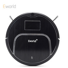 Eworld M883 ABS and Aluminium Alloy Robot Vacuum Cleaners for Dry Wet Cleaning 4 Colors Cordless Vacuum Cleaner for Home Clean(China)