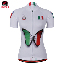 Italy Women's Club cycling Jerseys riding bike clothing MTB road bicycle wear short sleeve ropa  Short Sleeve Shirt