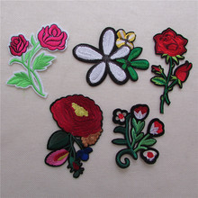 A lot of hybrid patches stripes fashion style hot melt adhesive applique embroidery patch DIY clothing accessory patch cheap(China)