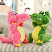 30cm Stuffed animals Big Size Simulation Crocodile Plush dinosaur Toy Cushion Pillow dinosaur Toys for kids toys Christmas gifts