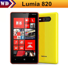 Original Nokia Lumia 820 Microsoft Windows Mobile Smart Phone 8.0MP Camear 8G ROM + 1G RAM