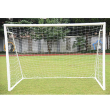 New 6 x 4FT Full Size Football Soccer Nets Ball Games Goal Post Nets Junior Outdoor Sports Tool Training Practice Equipment