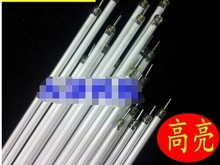 10pcs/lot Free shipping Supper Light CCFL 125 mm * 2.0 mm LCD Backlight Lamp tube 125mm