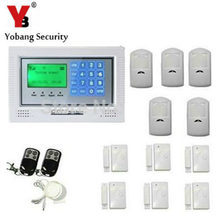 YobangSecurity Russian/Spanish/French /Italian/Czech/Portuguese Wireless Home Alarm Security System With Dialer DIY Kit